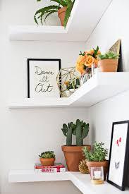 corner shevles via house beautiful contemporary ideas corner wall decoration ideas