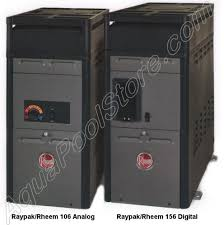 raypak swimming pool and spa heaters Spa Electrical Wiring raypak 106 and 156 above ground pool and spa heater