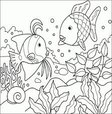Small Picture Adult Coloring Pages Amazing Fish Coloring For Kids Color