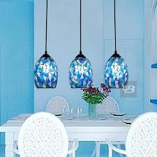 blue pendant light fixtures blue mini pendant light fixture
