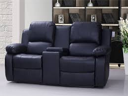 view larger valencia 2 seater leather recliner