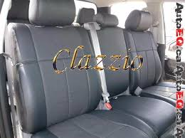 2016 2017 toyota tundra crew max clazzio leather seat cover 1st 2nd rows