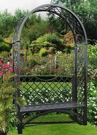 metal garden structures