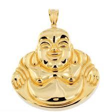 p160224 1 custom solid gold buddah pendant