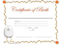 Birth Certificate Template Bravebtr