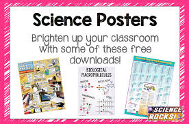 Free Science Posters Welcome To Science Lessons That Rock