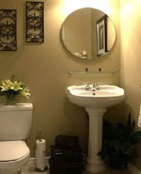 Mirror Tiles Decorating Ideas Bathroom Wall Art And Half Bathroom Ideas Also Round Wall Mirror 27