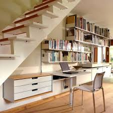 Modern Under Stairs Home Office