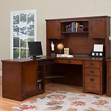 l shaped desk with hutch. Perfect Hutch Mission Pasadena LDesk With Hutch Right Or Left Return 8826895 In L Shaped Desk With