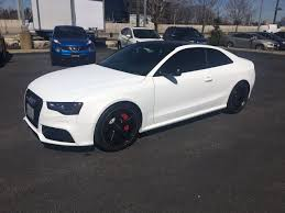2015 Audi RS5 Coupe - Matte White Wrap - Multi-Line Auto