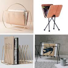 Contemporary Magazine Holder Inspiration Modern Magazine Rack New 32 Racks Design Crush For 32