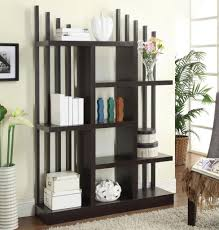 ... Large Size Janet Unique Bookcase In Cappuccino Finish Within Unusual  Bookcases ...