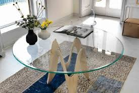 48 inch round glass table top 1 2