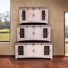 International Furniture Direct TV Stands 360 Pueblo White
