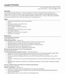 System Engineer Resume Resume Systems Engineer System Engineer In