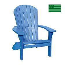 newport beach adirondack chair poly free made in usa