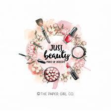 makeup artist logo designs saubhaya