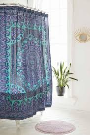 magical thinking sidi medallion shower curtain