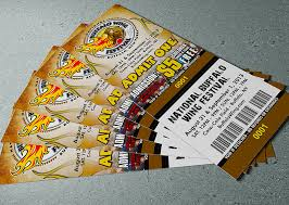 Admission Ticket Standard Ticket Printing Admission Tickets