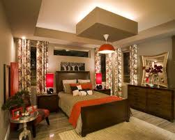 Inspiration for a contemporary master light wood floor and beige floor  bedroom remodel in Austin with