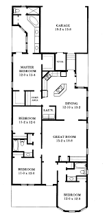 narrow lot house plans victorian home deco cottage prissy ideas 12 plan north faci