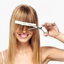 2pcs diy professional bangs hair trim