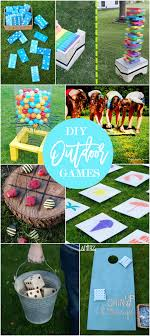 Diy Yard Projects 17 Diy Games For Outdoor Family Fun Diy Games And Family Affair