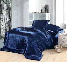 double bed sheet size in inches india dark blue bedding set silk satin super king queen