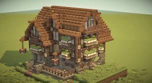 Minecraft Tavern Design Minecraft Medieval Inn Nmb Blue Flower Inn Minecraft