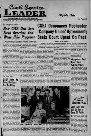 Csea 830 Salary Chart Csea Denounces Rochester Company Union Agreement Seeks