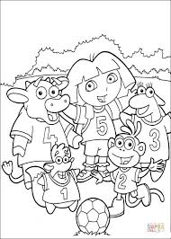 Small Picture Soccer Team coloring page Free Printable Coloring Pages