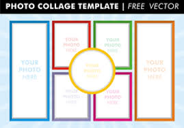 Picture Collage Templates Free Download Photo Collage Free Vector Art 43 360 Free Downloads