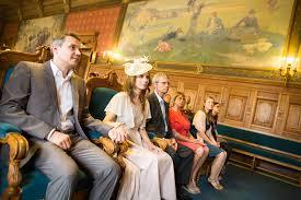 photo de mariage à la mairie du xive arrondist