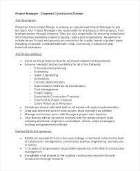 Surgical Technologist Job Description Sample Construction Project ...