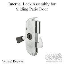 arcadia latch sgd 3 inch long cast w steel hook sliding patio door lock assembly