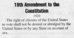 the th amendment became part of the constitution on  the 19th amendment became part of the constitution on 18 1920 1920s laws and amendments 19th amendment 15th amendment and 14