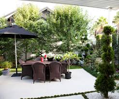 this picture perfect courtyard garden is small in size but perfectly formed