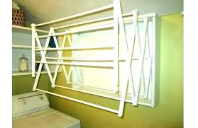 home clothes drying rack wall mounted laundry rack home depot drying rack wall mounted