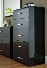 bedroom furniture black gloss. High Gloss Bedroom Furniture Designed In Grey Drawer With Black Accents Also Steel Handles, Exciting Shinny Fin. D