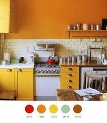 small kitchen design ideas yellow white wood and metal