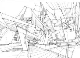 Architecture Drawing Wallpaper Line Drawing Photo Background