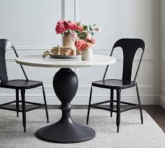 chapman round marble dining table