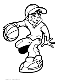 Small Picture Geography Blog Basketball Coloring Pages Coloring Home