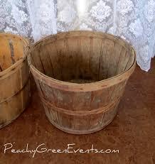 vintage wooden apple baskets