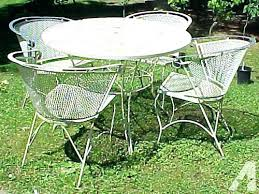 Vanity Wrought Iron Patio Furniture Manufacturers Of Outdoor Vintage