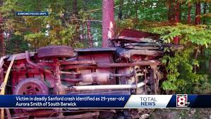 Police identify Maine woman killed in Sanford crash