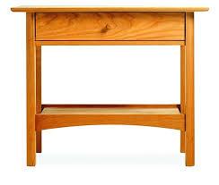 narrow bedside table small