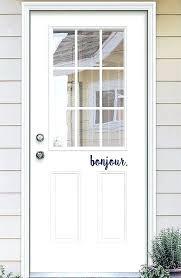 retractable screen door decals decorating
