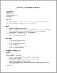 Business Analysis Resume  objects developer business sample resume     happytom co business analyst resume sample   Goodresumer com   business analysis resume