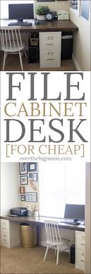 diy file cabinet desk. Modren Diy Create An Affordable And Beautiful Craft Or Work Space Easily Come Learn  How To Build In Diy File Cabinet Desk F